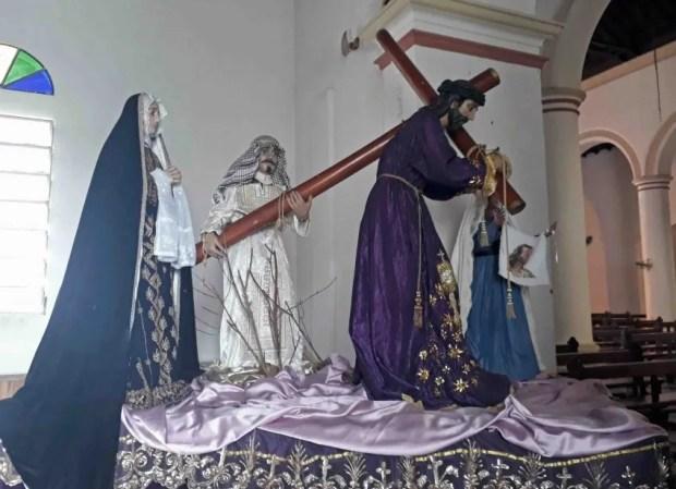 Santos de la Catedral de San Carlos, Cojedes. Patrimonio cultural de Venezuela en peligro.