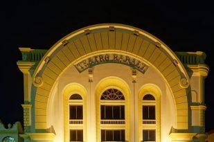 Teatro Baralt, de Maracaibo. Monumento Nacional de Venezuela.
