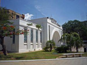 Plaza de La República. Patrimonio arquitectónico en riesgo de Maracaibo, estado Zulia. Venezuela.