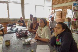 Registro de la colección del Maczul en el taller de fotogrametría, Maracaibo, Zulia.