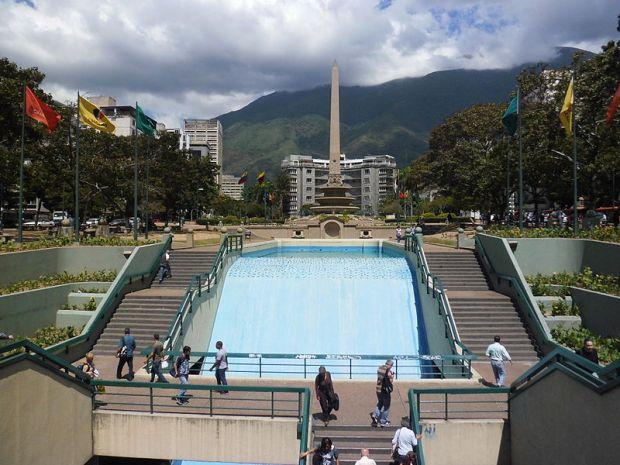 Plaza Francia de Altamira, Chacao. Patrimonio arquitectónico de Venezuela.