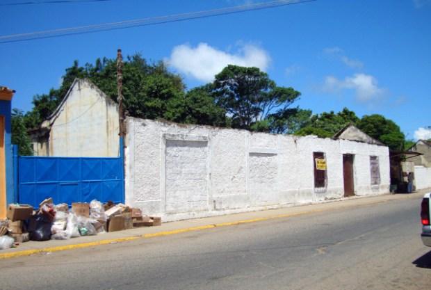 Casas históricas de Pueblo Nuevo. Península de Paraguaná, estado Falcón. Patrimonio arquitectónico de Venezuela en peligro.