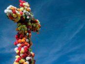 Cruz de Mayo, una tradición religiosa que enmarca el baile de la marisela, en Guárico - Venezuela. FOto MarlonMEDD.