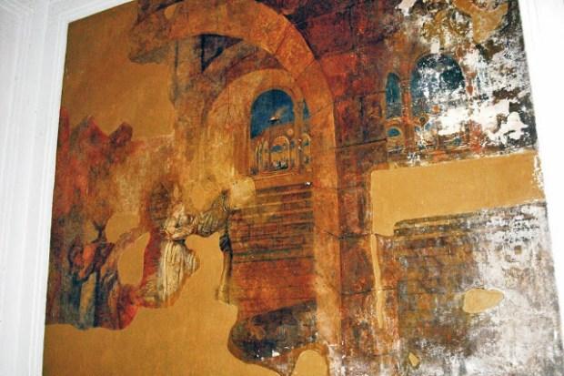 Mural El martirio de San Juan Bautista, en la Catedral de San Cristóbal, estado Táchira. Patrimonio cultural de Venezuela.