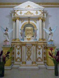 Iglesia San Pedro de Barinitas, estado Barinas. Monumento histórico nacional de Venezuela.