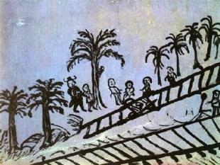 Bárbaro Rivas. Maestro venezolano (Petare, Caracas) de la pintura ingenua. Llamado el Iluminado. Patrimonio cultural de Venezuela.