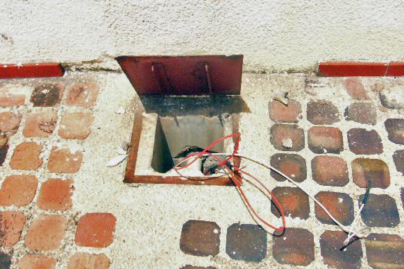 Hurto de cableado eléctrico en el Panteón Regional del Zulia. Patrimonio de Venezuela en peligro.
