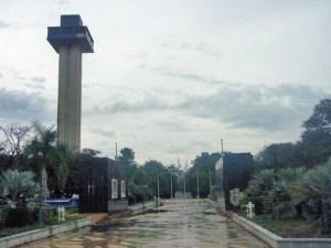 Parque La Marina o Mirador del Lago., Maracaibo, estado Zulia. Patrimonio cultural de Venezuela en peligro.