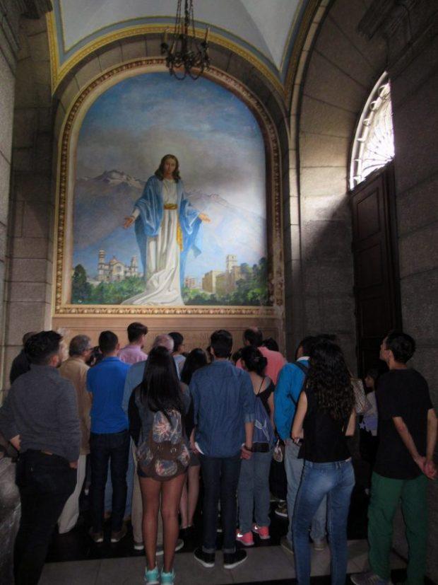 Inicio del recorrido en el interior de la Catedral Metropolitana. Mérida-Venezuela. Foto Samuel Hurtado Camargo, octubre 20 de 2018
