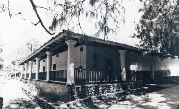 La casona de la antigua hacienda La Isla fue sede de la Biblioteca Febres Cordero durante 16 años años. Foto Colección Biblioteca Febres Cordero, Mérida-Venezuela.