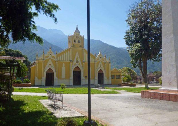 Iglesia Nuestra Señora de El Espejo, Mérida-Venezuela. Foto Marinela Araque, diciembre 2018.