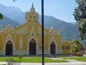 Iglesia Nuestra Señora de El Espejo, Mérida-Venezuela. Foto. Marinela Araque, diciembre 2018.