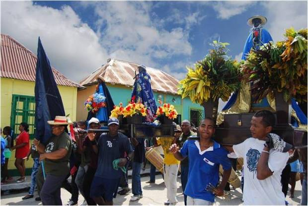 Los pueblos de Zulia como Santa María, Bobures, Gibraltar, San Juan, entre otros de Mérida como Palmarito, celebran la fiesta cada año. Fotos Evelyn Cannán