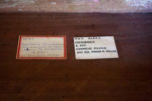 Escribanía, anónimo, Campeche, México. Comienzos del siglo XVIII. Colección Museo de Arte Colonial Quinta de Anauco. Código de registro MAC: Mb 27. Fotografía Bethany Briceño.