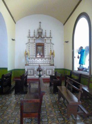 Retablo de la nave derecha de la iglesia Nuestra Señora de El Espejo, Mérida-Venezuela. Foto Marinela Araque, diciembre 2018.