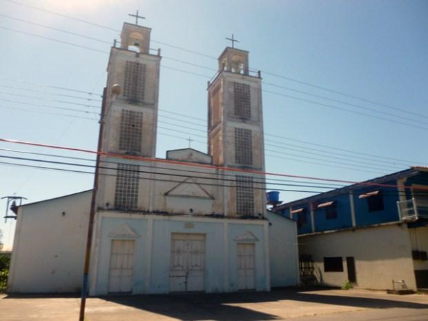 Iglesia Nuestra Señora de Los Ángeles, Bruzual, estado Apure. Foto Marinela Araque, enero 2019.