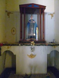 Iglesia Nuestra de Los Ángeles. Bruzual, Apure. Foto Marinela Araque, enero de 2019.