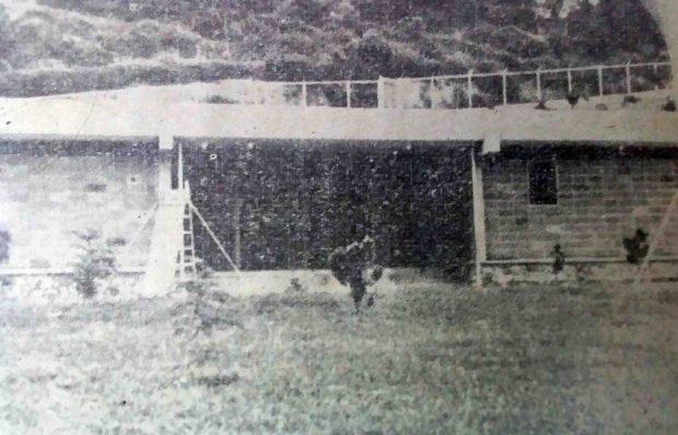 El Instituto Preescolar El Hatillo, más tarde Escuela Municipal María May. Foto en el libro María May, de Miguel Ángel Elíaz, 1971.