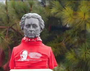 Busto de Gabriel Picón González. Mérida - Venezuela. Foto Fermín Eduardo Osorio, julio 1 de 2009