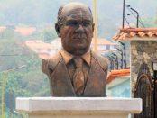 Cara frontal del busto de Briceño Ferrigni, Mérida. Foto Samuel Hurtado Camargo, marzo 27 de 2019.
