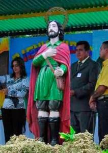 Fiesta-en-honor-a-San-Isidro-Labrador en Cachicamo, estado Barinas. Foto IPC