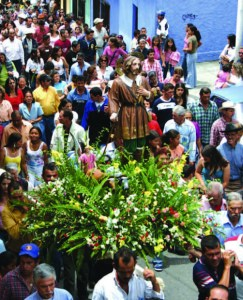 Procesión de San Isidro Labrador en Valera. Foto IPC