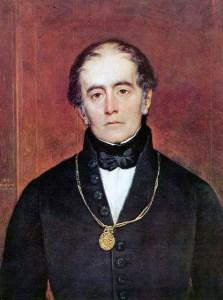 Retrato de Andrés Bello (Raymond Monvoisin).