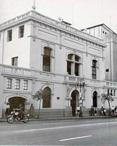 Archivo General de la Nación, obra emblemática de Alejandro Chataing. Foto Blog Archivólogo.