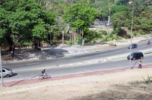 Ciclovía en el entorno de la Plaza Venezuela, Caracas. Foto Luis Chacín, mayo de 2019.