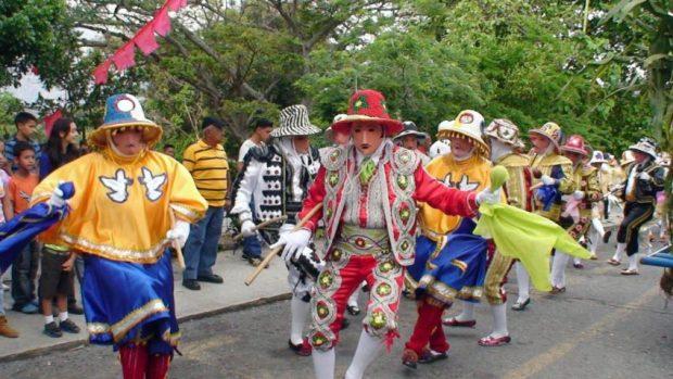 Danza de los Locos de San Isidro. Foto Wilmer Varela, cófrade de San Isidro.
