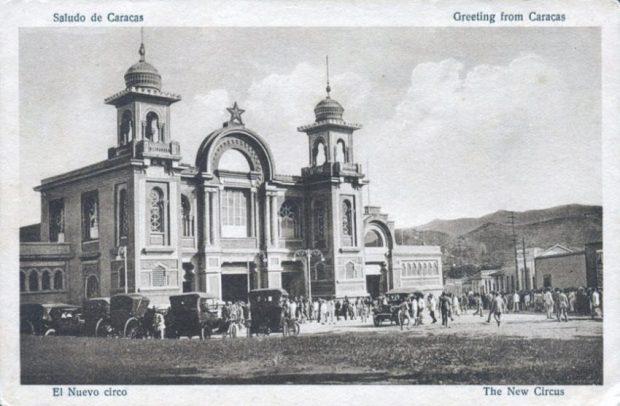 El Nuevo Circo, postal. Fuente Viejas Fotos Actuales