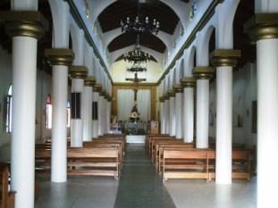 El Palmar Interior Iglesia San Miguel. Foto Juan Luis Correa_Hemisferio Guayana