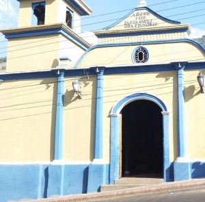 Capilla Virgen del Carmen. El Cobre, Táchira. Foto Édgar Agelvis_Prensa Gob. del Táchira.