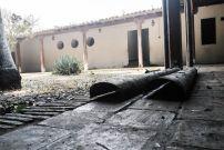 Patio interior del Centro de Historia Larense. Foto Katherine Nieto / El Impulso, agosto 2019.