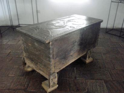 Baúl de madera. Foto MIldred Maury.