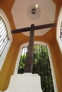 Una cruz de cují con casi 490 años de historia.