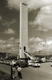 El Obelisco de Barquisimeto en 1956. Foto José Francisco Chávez.