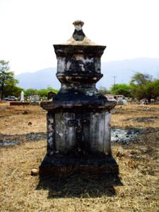 Antiguo sepulcro del cementerio de Curarigua. Foto IPC.