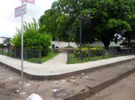 Vista general de plaza Páez. Foto Marinela Araque, 2017.
