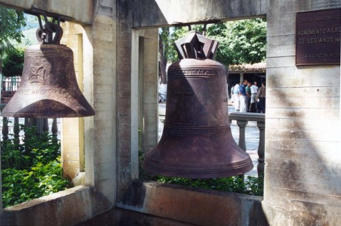 Campanas de la catedral Nuestra Señora de La Asunción, en Nueva Esparta.