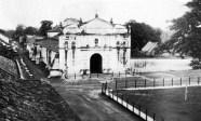 Catedral vista desde la Casa de la Cultura. Foto archivo Cronista Barinas.