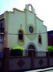 Fachada del colegio capilla Madre Rafols., comunidad de Trujillo, Venezuela