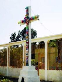 Cruz Blanca de Pampanito. Foto IPC.