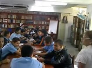 Biblioteca del Colegio Madre Ràfols. En la ciudad de Valera, estado Trujillo. Venezuela.