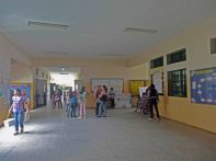 Área de la escuela básica del Grupo Escolar Estado Guárico, monumento monumento histórico municipal del estado Barinas, Venezuela.