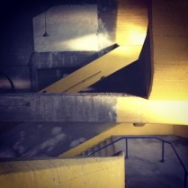 stairway in la bombonera