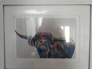 Highland Cow print: Lighthouse Lane, Haworth