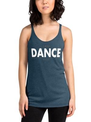 i AM Dance Women's Racerback Tank