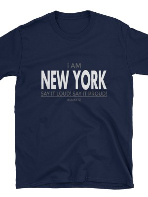 i AM New York Short-Sleeve Unisex T-Shirt