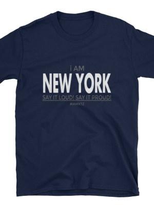 i AM New York Short-Sleeve Unisex T-Shirt